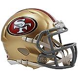 Riddell (リデル) NFLレプリカ ミニヘルメット (Speed Mini Helmet) サンフランシスコ・49ers 【並行輸入品】