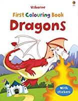 Dragons (First Colouring Books with stickers)