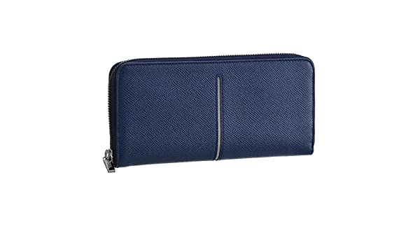 6140b45bf1ef Amazon | TOD'S(トッズ) 財布 メンズ カーフスキン ラウンドファスナー長財布 ネイビー×ライトグレー CHA1400-DOU-0IO4  [並行輸入品] | TOD'S(トッズ) | 財布