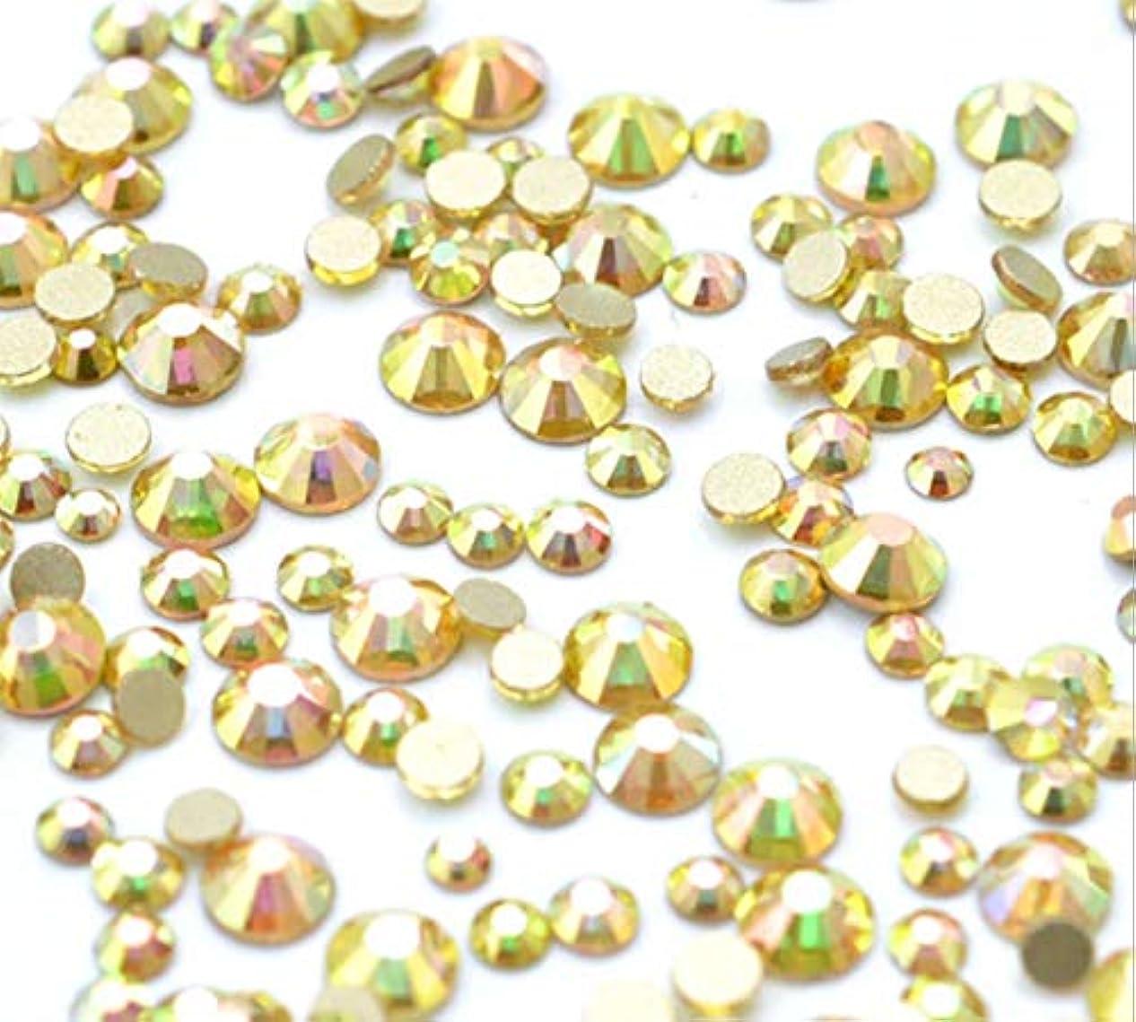 主流検索エンジンマーケティング香ばしいXIULI 大容量 カラー ラインストーン DIY ネイルを飾てと服装使用 高い採光 約3*1440=4320粒(ss3-20混合サイズ) (金属の日光4320)