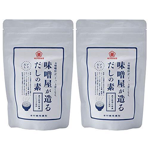 吉村醸造 サクラカネヨ 味噌屋が造る 出汁の素 120g ×2本
