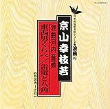 河内音頭(東西男くらべ・雷電と八角)