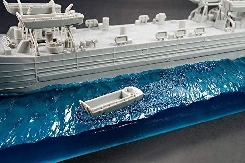 ホビーファン 1/350 アメリカ海軍LST用 波ベース プラモデル用パーツ HF094