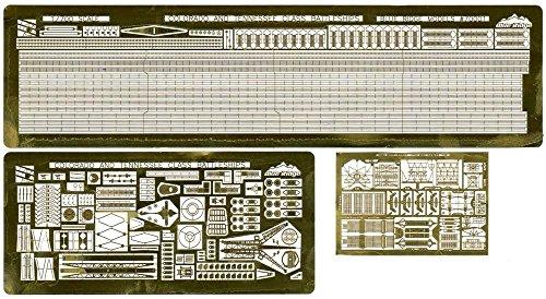 トムスモデル 1/700 エッチングパーツシリーズ 第二次世界大戦 アメリカ海軍戦艦 ウェスト ヴァージニア 1945用 PE324