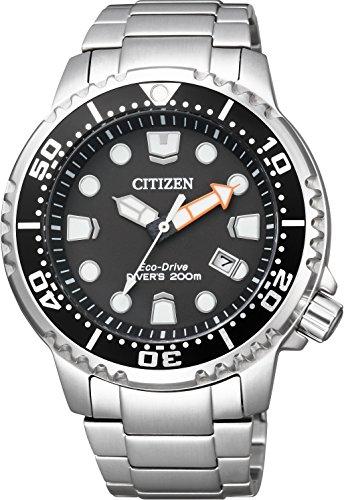 [シチズン]CITIZEN 腕時計 PROMASTER プロマスター Eco-Drive エコ・ドライブ GLOBAL MARINE スタンダードダイバー BN0156-56E メンズ