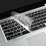 i-Buy Keyboard Cover Film, キーボードカバー (USキーボードレイアウト)[MacBook Air 13/Pro Retina 13,15インチ用]- TPU Clear