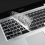 i-Buy Keyboard Cover Film, キーボードカバー (USキーボードレイアウト)[MacBook Air 13/Pro Retina 13,15インチ用]- TPU Clear