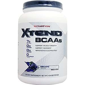 [ 大容量約1.2kg ] エクステンド (BCAA+Lグルタミン+シトルリン) ※グレープ風味  [海外直送品]