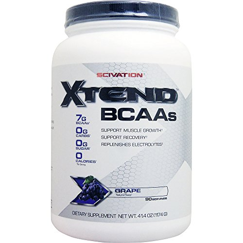 Thực phẩm chức năng bán chạy tại Nhật Bản [large capacity about 1.2 kg] extend (bcaa + l glutamine + citrulline) ※ grape flavor [oversea direct sour]
