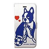 Soccer Junky (サッカージャンキー) iPhone6s iPhone6 4.7 インチ 手帳型ケース カバー 犬のキモチ 革 / カード収納 / スタンド / スマホケース / 横開き