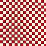 市松模様 生地 格子柄 ツイル 和柄 赤×白 NBK 布 コスプレ 帯 巾112cm×1m切売カット IBK7070-1C-1M