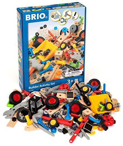 BRIO (ブリオ) ビルダー アクティビティセット [ 工具遊び おもちゃ ] 34588
