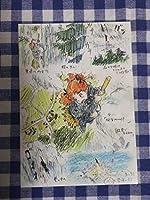 メアリと魔女の花 ジアート展 ポストカード ラフ画 ジブリ