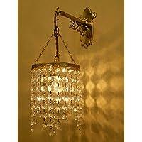 コンコルディア照明 ブラケットライト 真鍮製 クリスタル ミニシャンデリア Diana ダイアナ? WB251+642/CLR