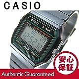 CASIO/チープカシオ F-91W-3/F91W-3 ベーシック デジタル ブラック×グリーン メンズ/ユニセックスウォッチ 腕時計 [並行輸入品]