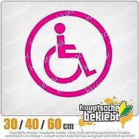 KIWISTAR - Wheelchair driver design 2 15色 - ネオン+クロム! ステッカービニールオートバイ