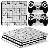 Zhhlinyuan PS4 ステッカー デカール 保護スキンシール スキンシール カバー for PlayStation 4 Pro Console & 2xController