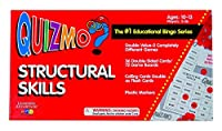Learning Advantage 8206 QUIZMO Structural Skills Card [並行輸入品]