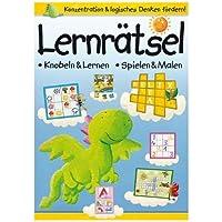 Uebungsbuch Lernraetsel: knobeln & lernen - spielen & malen