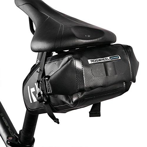 ArcEnCiel 自転車サドルバッグ 全防水 リアバッグ