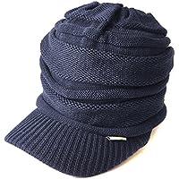 CHARM Casualbox - Peak Cap Beanie Knit Hat All Season Slouch Baggy Slouchy Peaked Summer Winter