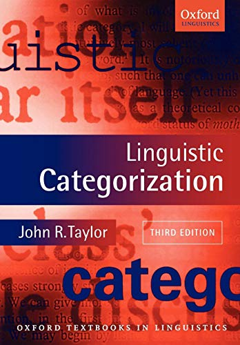 『Linguistic Categorization (Oxford Textbooks in Linguistics)』のトップ画像