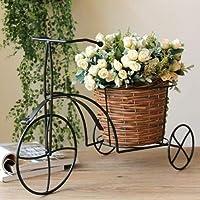 花かご 花バスケット 籐バスケット 籐鉢(17060130)