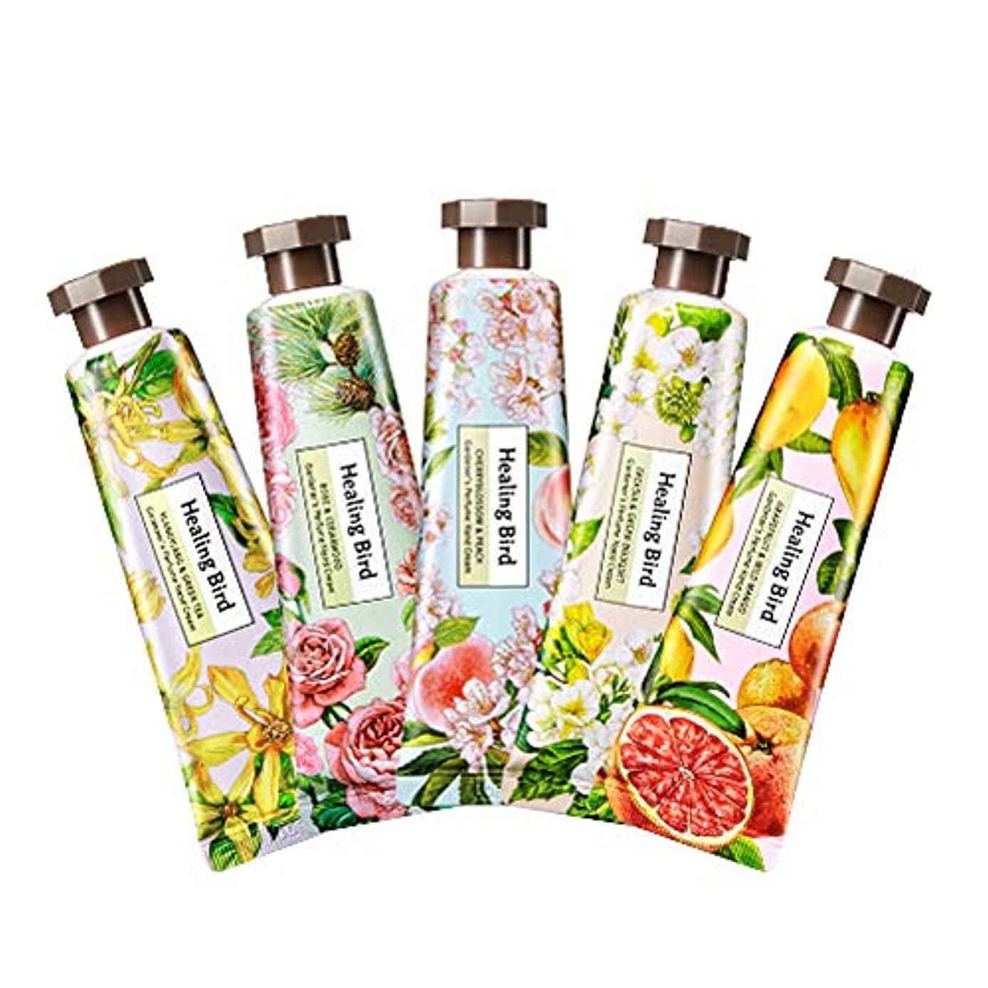 伝導ヨーグルト百年Healing Bird Gardener's Perfume Hand Cream 30ml ヒーリングバード カドゥノスパヒュームハンドクリーム (Rose & Cedarwood) [並行輸入品]