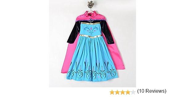 戴冠式 女の子 コスプレ 風 衣装 アナと雪の女王 ハロウィン 姫