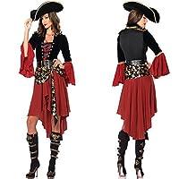 【INSIGHT WORKS】ハロウィン パイレーツオブカリビアン風コスチューム 衣装 レディース向けフリーサイズ