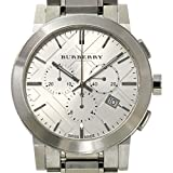 バーバリー BURBERRY シティ クロノグラフ メンズ 腕時計 BU9350 シルバー 文字盤 デイト クォーツ ウォッチ 【中古】 90042685 [並行輸入品]