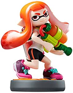 Amiibo Inkling Girl Splatoon Series