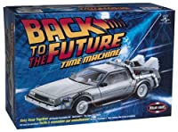 Back to the Future Time Machine Snap Together Model [並行輸入品]