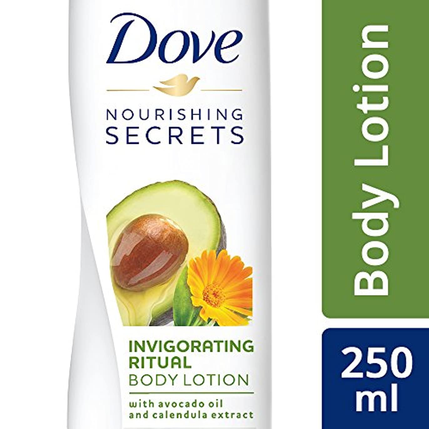 バーストビタミン構成Dove Invigorating Ritual Body Lotion, 250ml