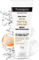 Neutrogena Deep Clean Acne Foaming Cleanser 100g,29010083