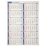 能率 NOLTY 2021年 カレンダー 壁掛け 19 A2 C131 ([カレンダー])