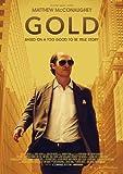 ポスター/スチール 写真 アクリルフォトスタンド入り A4 パターン3 ゴールド 金塊の行方 光沢プリント