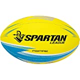 Spartan Aspire Rugby League Ball, Yellow, Size 3