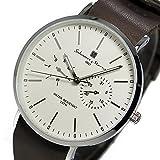 サルバトーレ マーラ クオーツ ユニセックス 腕時計 SM15117-SSWHSV ホワイト