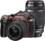 PENTAX デジタル一眼レフカメラ K-30 ダブルズームキット [DAL18-55mm・DAL55-300mm] クリスタルボルドー K-30WZK C-BO 14589