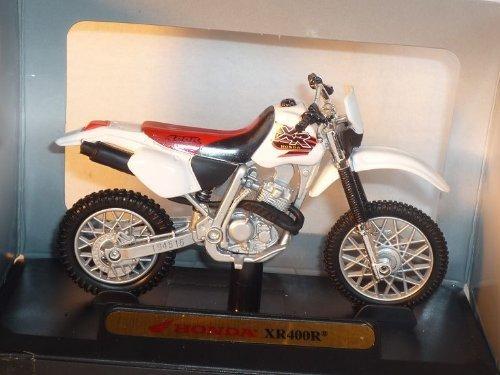 Honda Xr400r Xr 400 R Xr400 Rot Weiss 1/18 Mondo Motors Modellmotorrad Modell Motorrad by Modellcarsonline [並行輸入品]