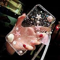 可愛い 海星 シェル柄 スマホケース 保護用iphoneケース クリア iPhoneXケース 保護カバー