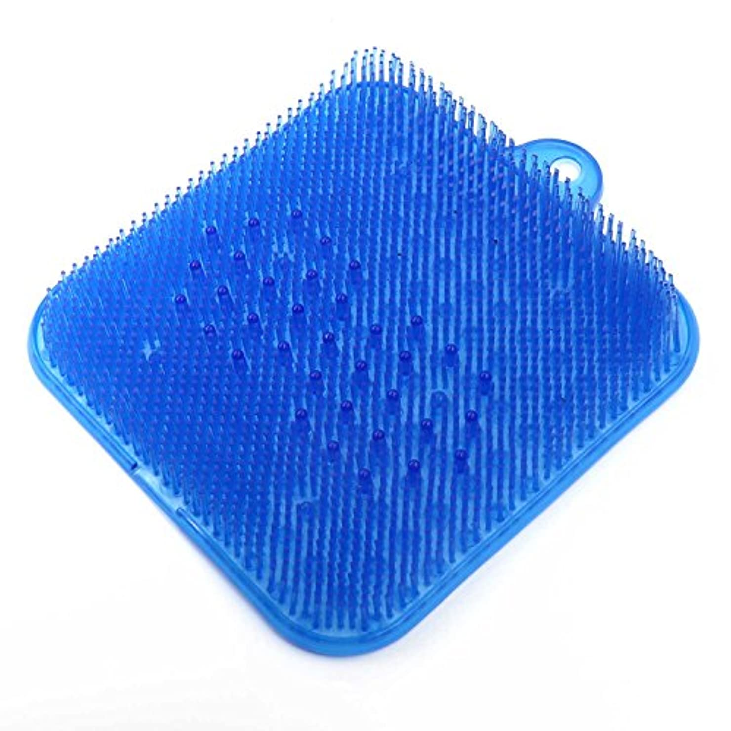ピボットスリッパ定期的なDigHealth 足洗いマット ブルー
