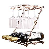 手作りの鉄のワインラック/ワイングラスラック/装飾品/装飾品/ギフト(36 * 33 * 19.5cm)