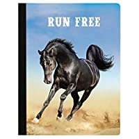 Tree-Free Greetings Run Free Soft Cover 140 Page Recomposition College Ruled Notebook 9.75 x 7.25 (CJ48428) [並行輸入品]