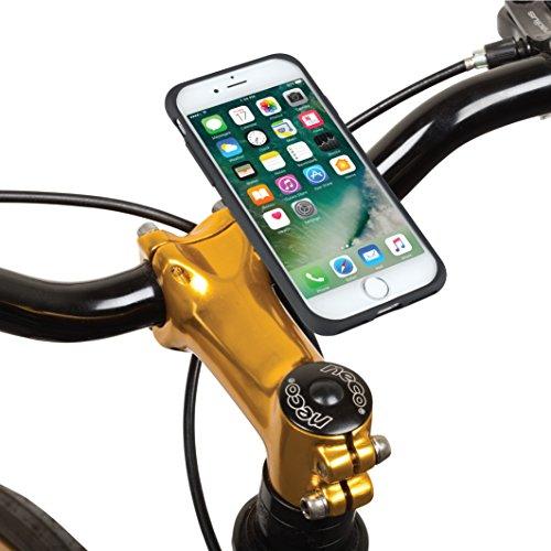 TiGRA Sport スマホスタンド 自転車 バイク スマホホルダー スマートフォンホルダー iPhone8 iPhone7 MountCase for iPhone 8/7【簡単2タッチで着脱】