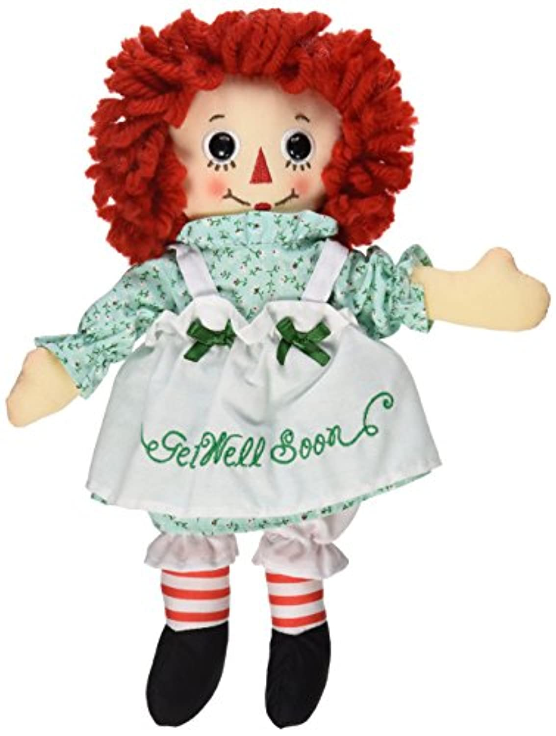Aurora World Raggedy Ann Get Well Soon人形、10