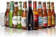 世界のビール12本飲み比べギフトセット スペイン産高級ビール豪華3本入!スペイン・イタリア・ドイツ・ベルギーなどビール本場より大集結!全種類の商品説明がわかるビールリスト付