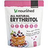 So Nourished Powdered Erythritol Sweetener (2.27 kg / 5 lb) - Confectioners - No Calorie Sweetener, Non-GMO, Natural Sugar Substitute (5 Pounds)