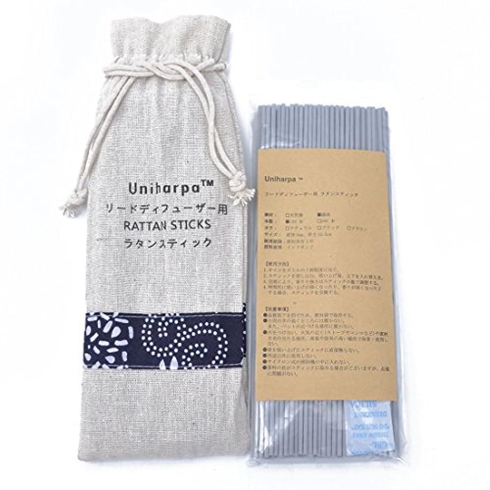 ファイバ許さない応じるリードディフューザー用 ラタンスティック/リードスティック リフィル 繊維素材 22.5cm 直径3mm 100本入 乾燥剤入り オリジナル旅行専用袋付 (灰色)